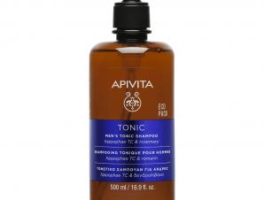 Apivita Men's Tonic Shampoo With Hippophae TC & Rosemary Τονωτικό Σαμπουάν Κατά της Τριχόπτωσης για Άνδρες 500ml