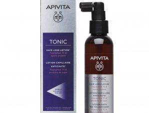 Apivita Tonic Hair Loss Lotion Spray Λοσιόν Κατά της Τριχόπτωσης με Hippophae TC & Πρωτεΐνες Λούπινου 150ml