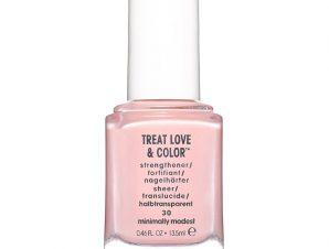 Essie Treat Love & Color Strengthener Θεραπεία Νυχιών με Χρώμα για Ενδυνάμωση & Όμορφο Αποτέλεσμα 13.5ml – 30 Minimally Modest