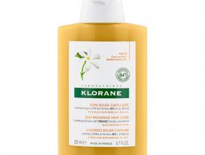 Klorane Monoi Sun Radiance Hair Care Organic Sampoo Monoi & Tamaru Σαμπουάν Θρέψης & Επανόρθωσης 200ml