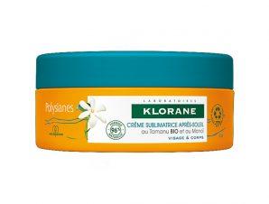 Klorane Sun Polysianes Cream Sumblime After Sun with Monoi & Tamaru Επανορθωτική Κρέμα για Μετά την Έκθεση στον Ήλιο 200ml
