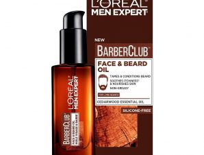 L'oreal Paris Men Expert BarberClub Face & Beard Oil Ενυδατικό, Καταπραϋντικό Έλαιο για Πρόσωπο & Μούσια 30ml