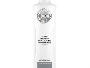 Nioxin Scalp Therapy Revitalizing Conditioner System 1 Step 2 Μαλακτική Κρέμα για Φυσικά Μαλλιά με Ελαφριά Αραίωση 300ml
