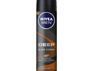 Nivea Men Deep Espresso Deo Spray Ανδρικό Αποσμητικό σε Μορφή Σπρέι με Black Carbon και Μοναδικό Άρωμα Espresso 150ml