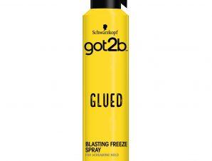 Schwarzkopf Got2B Hair Spray Glued Freeze Λακ Ειδικά Σχεδιασμένη για Υψηλό & Μακράς Διάρκειας Κράτημα 300ml