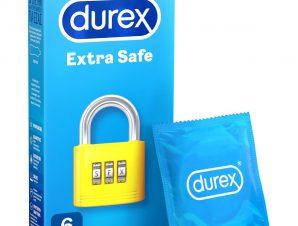 Durex Extra Safe Πολύ Ανθεκτικά Προφυλακτικά 6 Τεμάχια