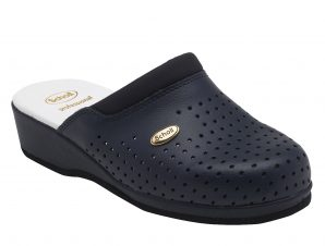 Scholl Shoes Back Guard Σαμπό Μπλε Επαγγελματικά Παπούτσια που Χαρίζουν Σωστή Στάση & Φυσικό Χωρίς Πόνο Βάδισμα 1 Ζευγάρι – 40