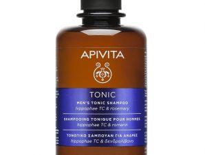 Apivita Men's Tonic Shampoo Τονωτικό Σαμπουάν Κατά της Τριχόπτωσης για Άνδρες με Ιπποφαές & Δενδρολίβανο 75ml