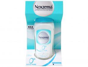 Noxzema Roll On Sensipure 0% Αποσμητικό Για Ευαίσθητες Επιδερμίδες 50ml