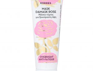 Korres Mask Damask Rose Μάσκα Νύχτας για Ξεκούραστη Όψη, με Εκατοντάφυλλο 18ml
