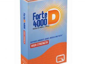 Quest Forte D 4000iu Συμπλήρωμα Διατροφής με Βιταμίνη D Υψηλής Περιεκτικότητας 120tabs