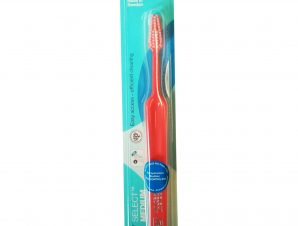 Tepe Select Medium Οδοντόβουρτσα Μέτρια για Εύκολη Πρόσβαση στα Πίσω Δόντια & Αποτελεσματικό Καθαρισμό 1 Τεμάχιο – κόκκινο