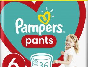 Pampers Pants No6 Maxi Pack (15+kg) 36 πάνες