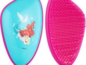 Dessata Detangling Hairbrush Disney Ariel Παιδική Βούρτσα που Ξεμπερδεύει τα Μαλλιά Γρήγορα & Χωρίς Κόπο 1 Τεμάχιο