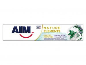 Aim Nature Elements Expert Protection Baking Soda Οδοντόκρεμα για Βαθύ Καθαρισμό & Δροσερή Αναπνοή 75ml
