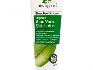 Dr Organic Organic Aloe Vera Skin Lotion Γαλάκτωμα Σώματος με Βιολογική Αλόη Βέρα 200ml