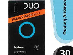 Duo Natural Family Pack Φυσικά Προφυλακτικά 30 τεμάχια