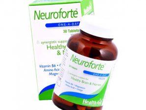 Health Aid Neuroforte Υγιές Νευρικό Σύστημα και Εγκέφαλος 30 Ταμπλέτες