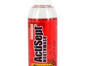 Actisept Mouthwash Cinnamon Φυσική Προστασία με Υπέροχη Γεύση Κανέλα 60ml