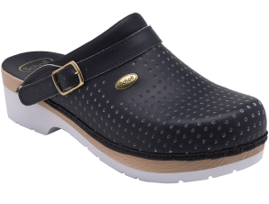 Scholl Shoes Σαμπό Μπλε Υπέρ Αναπαυτικά Παπούτσια που Χαρίζουν Σωστή Στάση & Φυσικό Χωρίς Πόνο Βάδισμα 1 Ζευγάρι – 39