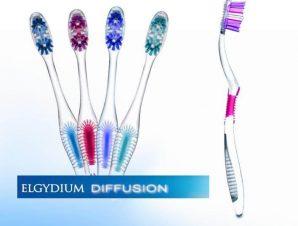 Elgydium Diffusion Οδοντόβουρτσα Με Πρωτοποριακή Τεχνολογία AFT Για Ολοκληρωμένο Και Πλήρη Καθαρισμό Του Στόματος Hard – μπλέ