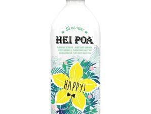 Hei Poa Happy Monoi Oil Tiare Limited Edition Λάδι Monoi Πολλαπλών Χρήσεων με Άρωμα Λουλουδιών Tiare Συλλεκτική Έκδοση 100ml