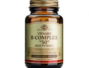Solgar Formula B-Complex '50mg' veg.caps – 50 veg.caps