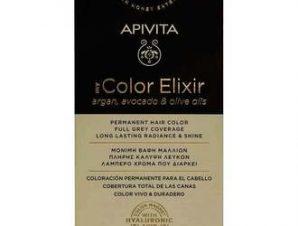 Apivita My Color Elixir Μόνιμη Βαφή Μαλλιών / No 1.0 Μαύρο