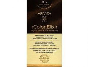 Apivita My Color Elixir Μόνιμη Βαφή Μαλλιών / No 8.3 Ξανθό Ανοιχτό Μελί