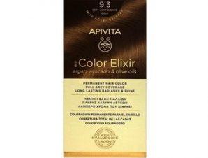 Apivita My Color Elixir Μόνιμη Βαφή Μαλλιών / No 9.3 Ξανθό Πολύ Ανοιχτό Μελί