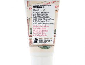 Korres Ενυδατική Κρέμα Χεριών με Βιολογικό Αμυγδαλέλαιο & Καλέντουλα 75ML