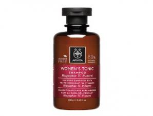Apivita Holistic Hair Care Τονωτικό Σαμπουάν Κατά της Τριχόπτωσης για Γυναίκες με Ιπποφαές & Δάφνη 250ml