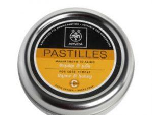 Apivita Παστίλιες για το Λαιμό με Θυμάρι & Μέλι 45g