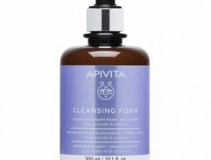 Apivita Promo Limited Edition Κρεμώδης Αφρός Καθαρισμού για Πρόσωπο & Μάτια / 300ml
