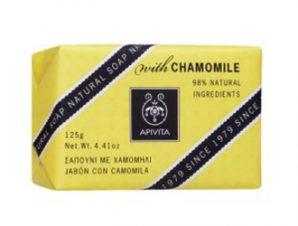 Apivitia Natural Soap Χαμομήλι 125gr
