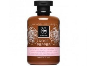 Apivita Rose Pepper – Aφρόλουτρο με Aιθέρια Έλαια – 300ml