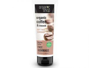 Natura Siberica – Organic Shop Απαλό Scrub Προσώπου Morning Coffee, 75 ml