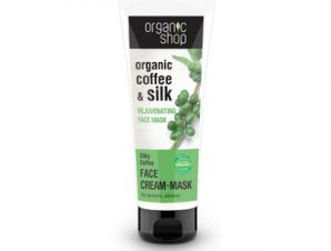 Natura Siberica – Organic Shop Αναζωογονητική Κρέμα-Μάσκα Προσώπου Silky Coffee, 75 ml