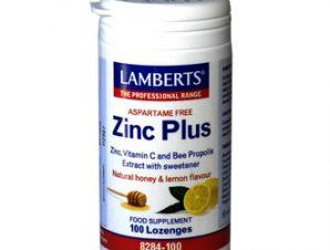 Lamberts – Zinc Plus Ψευδάργυρος (100lozenges)