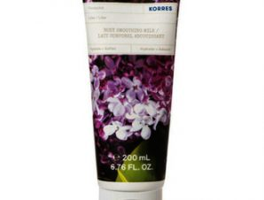 Korres Body Smoothing Milk – Πασχαλιά 200ml