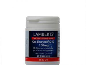 Lamberts Co-Enzyme Q10 100mg – 30caps