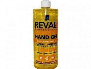 Intermed Reval Hand Gel 1lt Αλκοολούχος αντισηπτική γέλη