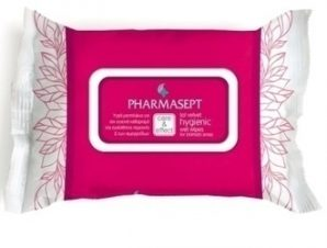 Pharmasept Care & Effect – Tol Velvet Hygienic Wet Wipes, for intimate areas, 30 τεμάχια