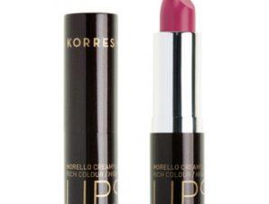 Korres Morello Creamy Lipstick – 19 Vibrant Fuchsia – 3,5g.