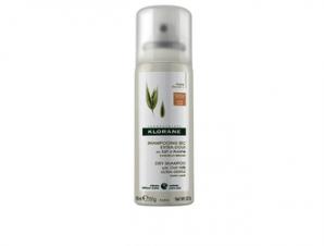 Klorane Dry Shampoo με Βρώμη για κανονικά μαλλιά – καστανά/σκούρα μαλλιά / 50ml