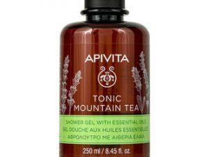 Apivita Tonic Mountain Tea Αφρόλουτρο με τσάι του βουνού / 250ml
