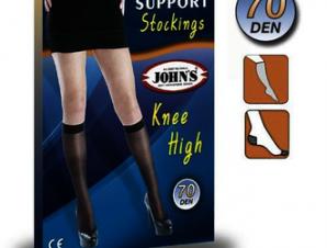 JOHN' S Κάλτσες Κάτω Γόνατος 70den [214575] Size: 3 Fume