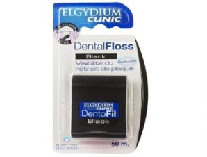 ELGYDIUM Dental Floss Black 50m