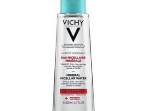 Vichy Purete Thermale Eau Micellar Minerale Water / Καθαριστικό Νερό Ντεμακιγιάζ για Ευαίσθητη Επιδερμίδα 200ml