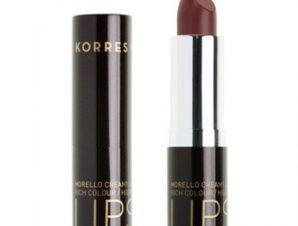 Korres Morello Creamy Lipstick – 34 Mocha Brown – 3,5g.